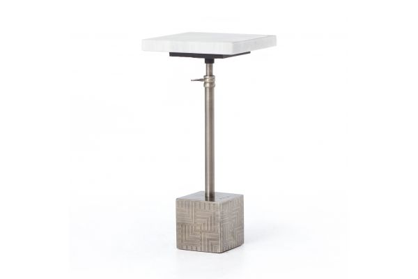 Large image of Four Hands Asher Collection Sirius Adjustable Accent Table - IASR-029