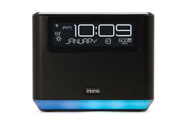 iHome Alexa Bedside Speaker System - IAVS16-B