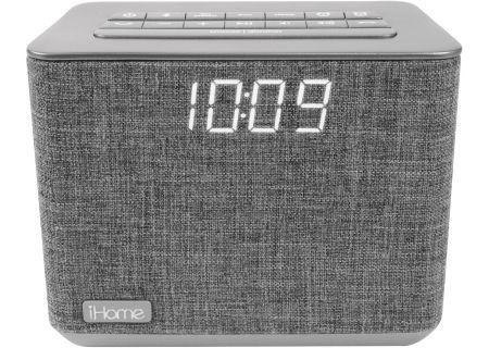 iHome Bluetooth Dual Alarm FM Clock Radio - IBT232G