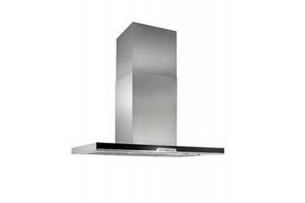 """Large image of Best 40"""" Eclisse Island Stainless Steel Island Hood - IC34E100SB"""