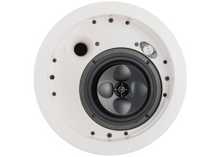 "Klipsch 5.25"" White 2-Way In-Ceiling Loudspeaker - IC-525-T"