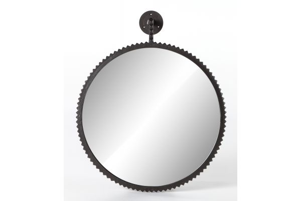 Large image of Four Hands Camden Collection Bronze Cru Large Mirror - ICAM-16A