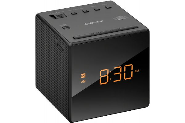 Large image of Sony Black Clock Radio - ICFC1BLACK