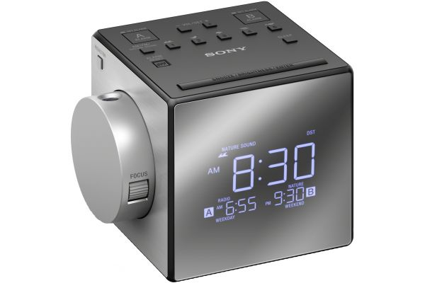 Large image of Sony Nature Sounds Projection Clock Radio - ICFC1PJ