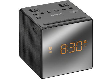 Sony Black Mirrored Clock Radio - ICF-C1TBLACK
