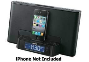 Sony - ICFCS15IPBLK - iPod Audio Stations