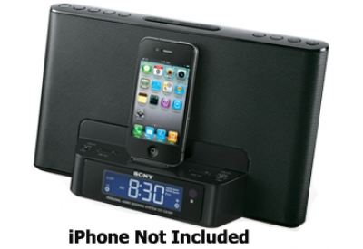 Sony - ICFCS15IPBLK - iPod Docks
