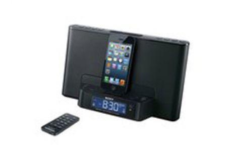 Sony - ICF-CS15IPBLKN - iPod Docks
