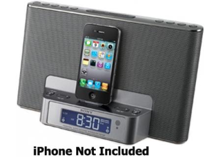 Sony - ICFCS15IPSIL - iPod Docks