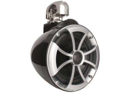 "Wet Sounds 8"" Black ICON Series Mini Swivel Clamp Marine Tower Speaker - ICON8B-SCM"