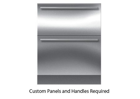 "Sub-Zero 27"" Panel Ready Integrated Double Drawer Refrigerator - ID-27R"