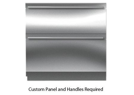 "Sub-Zero 36"" Panel Ready Integrated Double Drawer Refrigerator And Freezer - ID-36C"