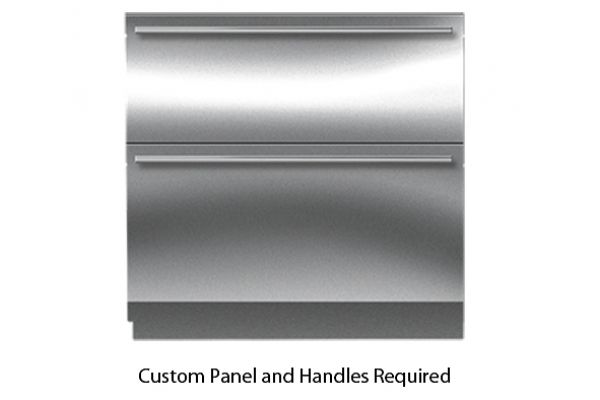 "Sub-Zero 36"" Panel Ready Integrated Double Drawer Refrigerator - ID-36RP"