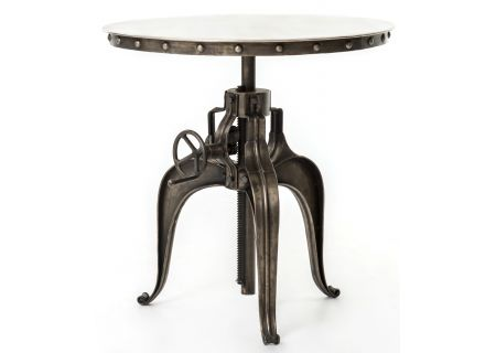 "Four Hands Element Collection 30"" Bistro Crank Table  - IELE-09-NKLANT"