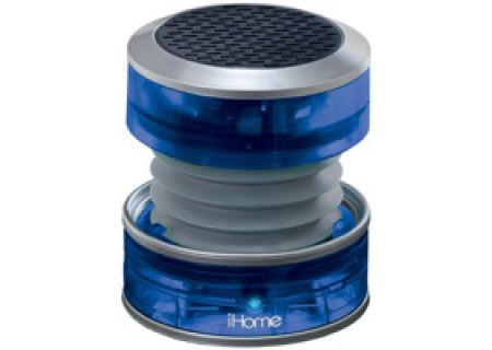 iHome - IHM60 BLUE - Bluetooth & Portable Speakers
