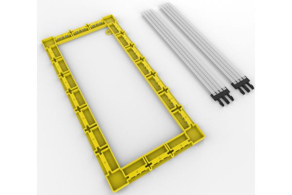 "Large image of Klipsch 5.25"" In-Wall Speaker Installation Kit (Pair) - 1065325"
