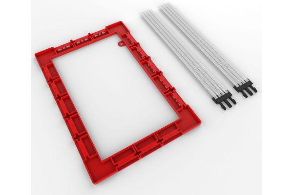 "Large image of Klipsch 6.5"" In-Wall Speaker Installation Kit - 1065323"