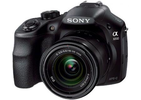 Sony - ILCE-3000K/B - Digital Cameras