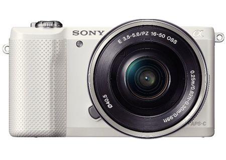 Sony - ILCE5000L/W - Digital Cameras