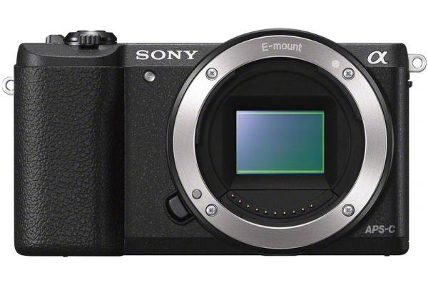 Large image of Sony Alpha A5100 Black DSLR Camera Body - ILCE5100/B