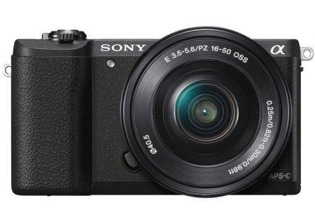 Sony Alpha A5100 Black DSLR Camera With 16-50mm Lens - ILCE-5100L/B