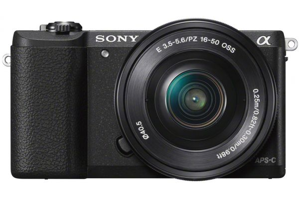 Sony Alpha A5100 Black DSLR Camera With 16-50mm Lens - ILCE-5100L/B