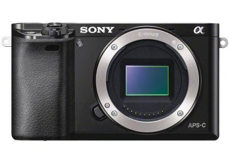 Sony - ILCE-6000/B - Digital Cameras