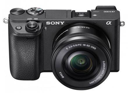 Sony - ILCE6300L/B - Digital Cameras