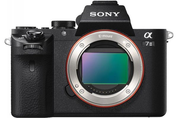 Sony 24.3 MP Full-Frame Mirrorless Camera Body - ILCE-7M2/B