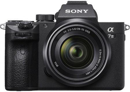Sony Alpha a7 III Mirrorless Digital Camera With 28-70mm Lens - ILCE-7M3K/B