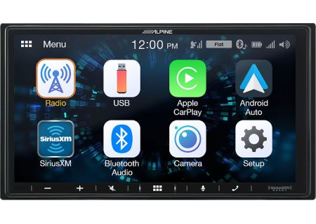 "Alpine 7"" Mech-Less Audio Video Receiver - ILX-W650"