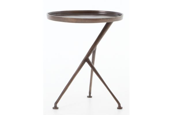Large image of Four Hands Marlow Collection Schmidt Accent Table - IMAR-112-ART
