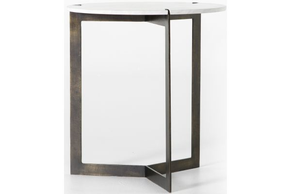 Large image of Four Hands Marlow Collection Kiva End Table - IMAR-139