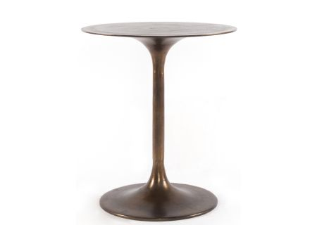Four Hands Marlow Collection Raw Nickel Tulip Side Table - IMAR-27-ART