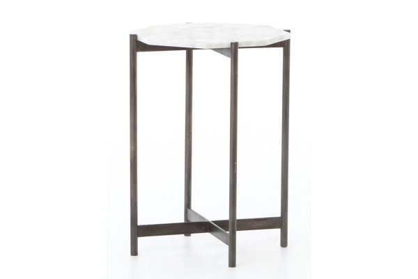 Large image of Four Hands Marlow Collection Adair Side Table - IMAR-68