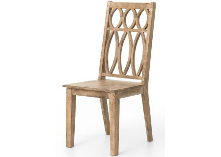 Four Hands Magnolia Collection Whitewash Magnolia Dining Chair - IMGN-DC2