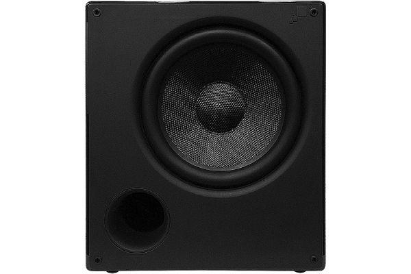 """Large image of Sonance Impact Piano Black 8"""" Subwoofer - 93356"""