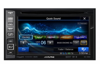 Alpine - INE-W960 - In-Dash GPS Navigation Receivers