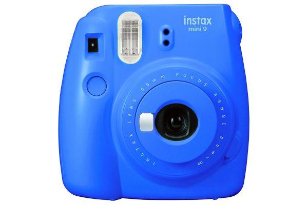 Fujifilm Instax Mini 9 Cobalt Blue Instant Film Camera - PRO7447