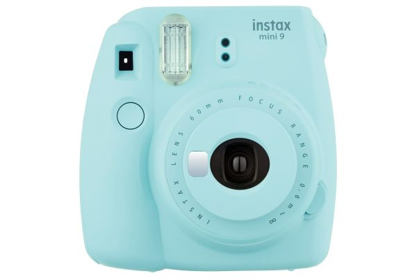 Large image of Fujifilm Instax Mini 9 Ice Blue Instant Film Camera - PRO5375