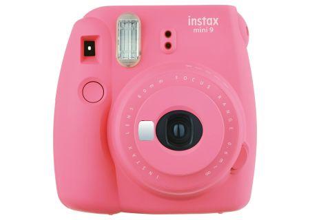 Fujifilm Instax Mini 9 Flamingo Pink Instant Film Camera - PRO5389