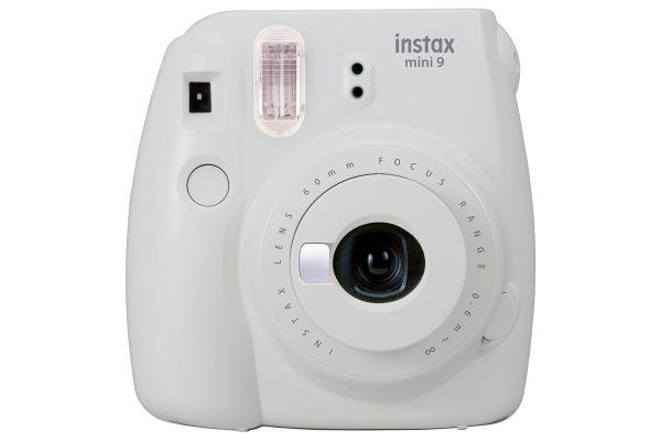 Fujifilm Instax Mini 9 Smokey White Instant Film Camera - PRO7440