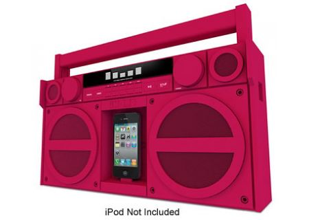iHome - iP4PZC - Boomboxes & Portable CD Players