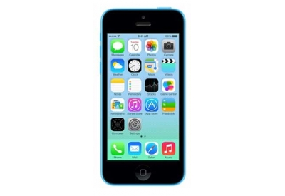 AT&T Wireless - IPHONE5C32BLU - Cell Phones