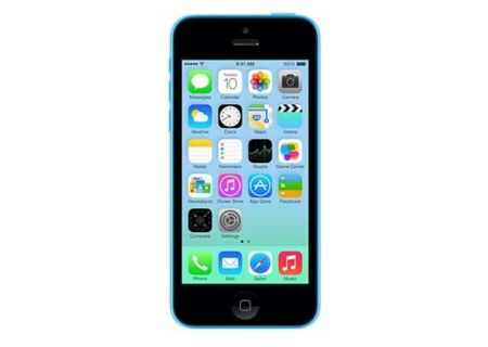 AT&T Wireless - IPHONE5C16BLU - Cell Phones