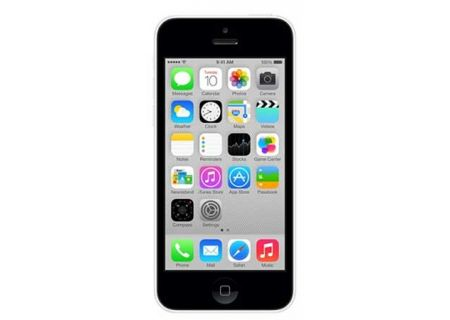 AT&T Wireless - IPHONE5C16WH - Cell Phones