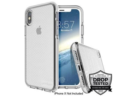 Prodigee Safetee Silver Case For iPhone X - IPHX-SAFE-SLV