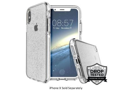 Prodigee Super Star White Case For iPhone X - IPHX-SSTR-WHT