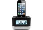 iHome Dual Charging Black Stereo FM Clock Radio - IPL10