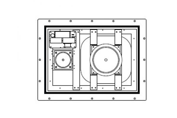 Large image of Sonance IS2 In-Wall Invisible Speakers (Pair) - IS2II